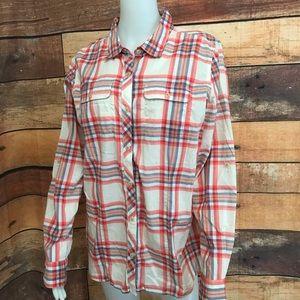 The North Face Button Down Shirt Sz XL